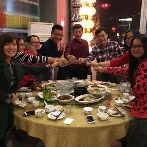 【员工活动】2016年11月金徽集团员工聚餐活动